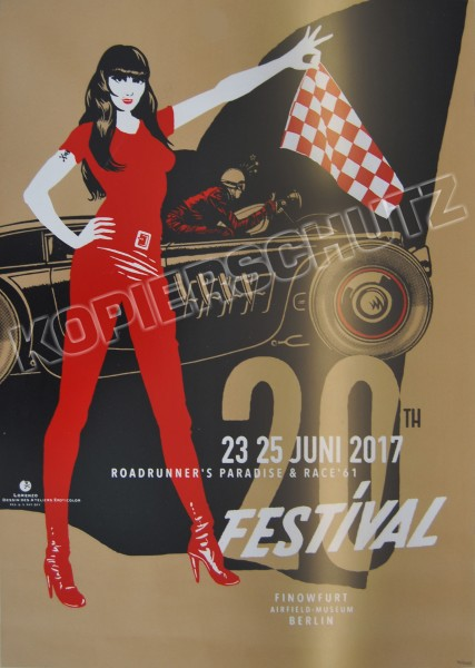 Race 61 Poster Special Edition limitierte Auflage