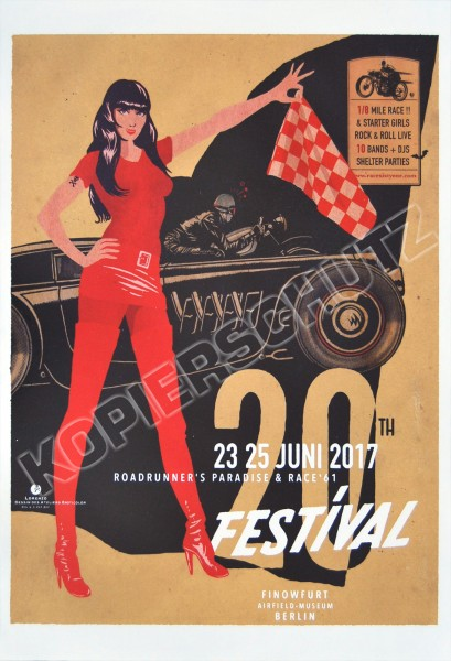 Race 61 Poster Special Edition