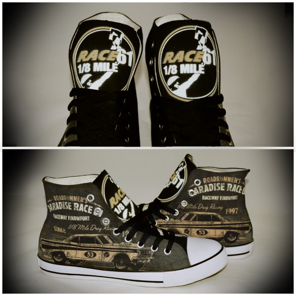 Race 61 Schuhe Chucks for Kids 1/8 Mile Drag Racing 53