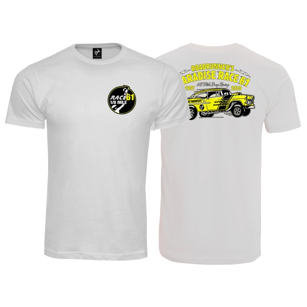 Race 61 T-Shirt 1997-2020 Weiß