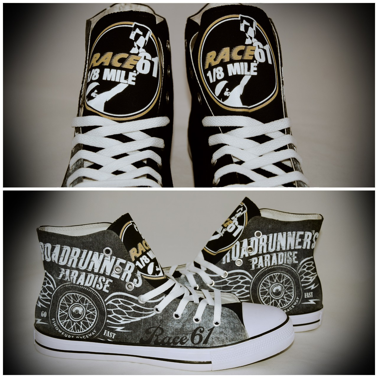 Race61 Schuhe Chucks for Kids Go Fast