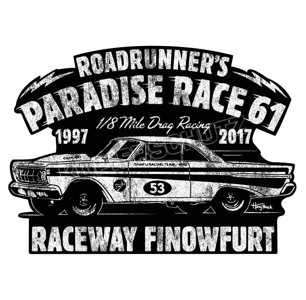 Race 61 Aufkleber Sticker 1/8 Mile Drag Racing 53