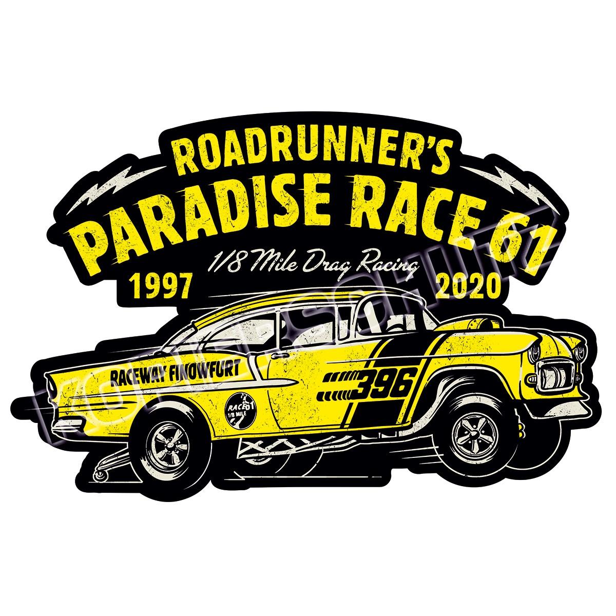 Race 61 Aufkleber Sticker 1997-2020