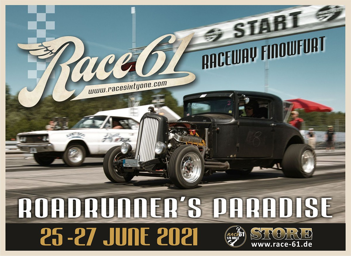 Race 61 Poster Festival Plakat 2021