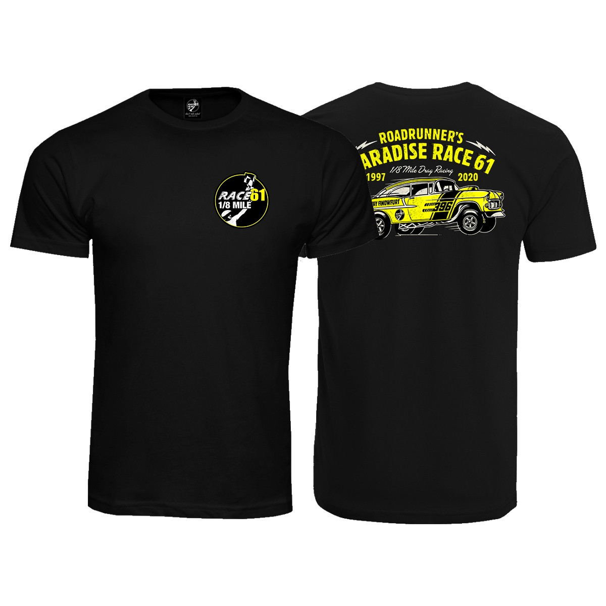 Race 61 T-Shirt 1997-2020 Schwarz