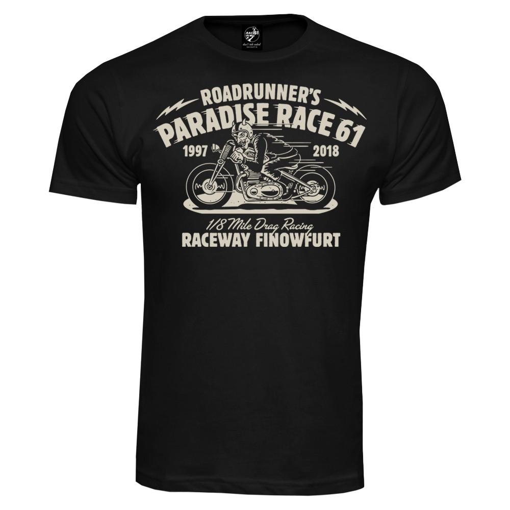 Race 61 T-Shirt 1997-2018 schwarz